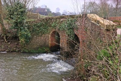 Kingscote Estate Bridge Over Stream