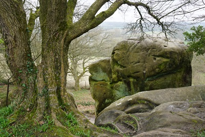 Stone Hill Rocks on Standen Walk